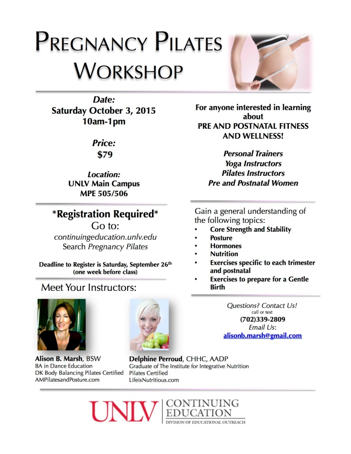 UNLV CE Workshop Flier